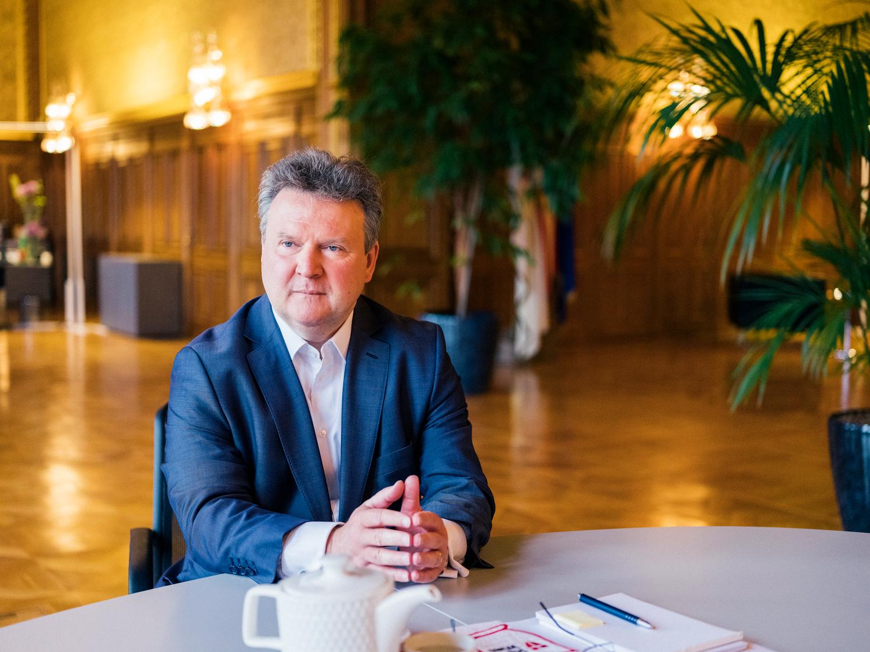 Von den Kinderfreunden bis zum SPÖ-Parteichef in Wien: Michael Ludwig
