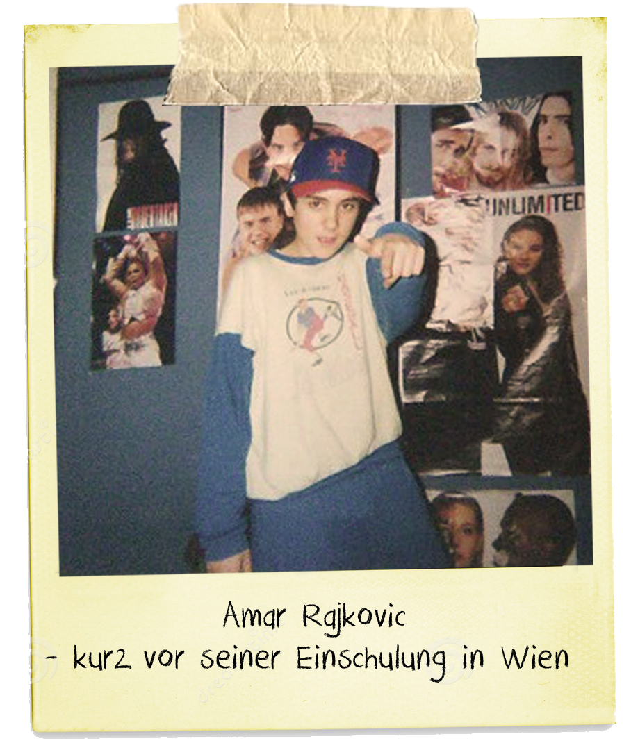 Amar, zwölf, Hauptschule, Kurt Cobain, Poster, Kinderzimmer