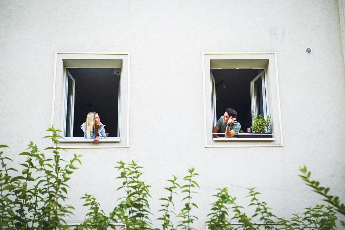 Gimme me some Gemeidebau-Ralph und Nici (Foto: Zoe Opratko)