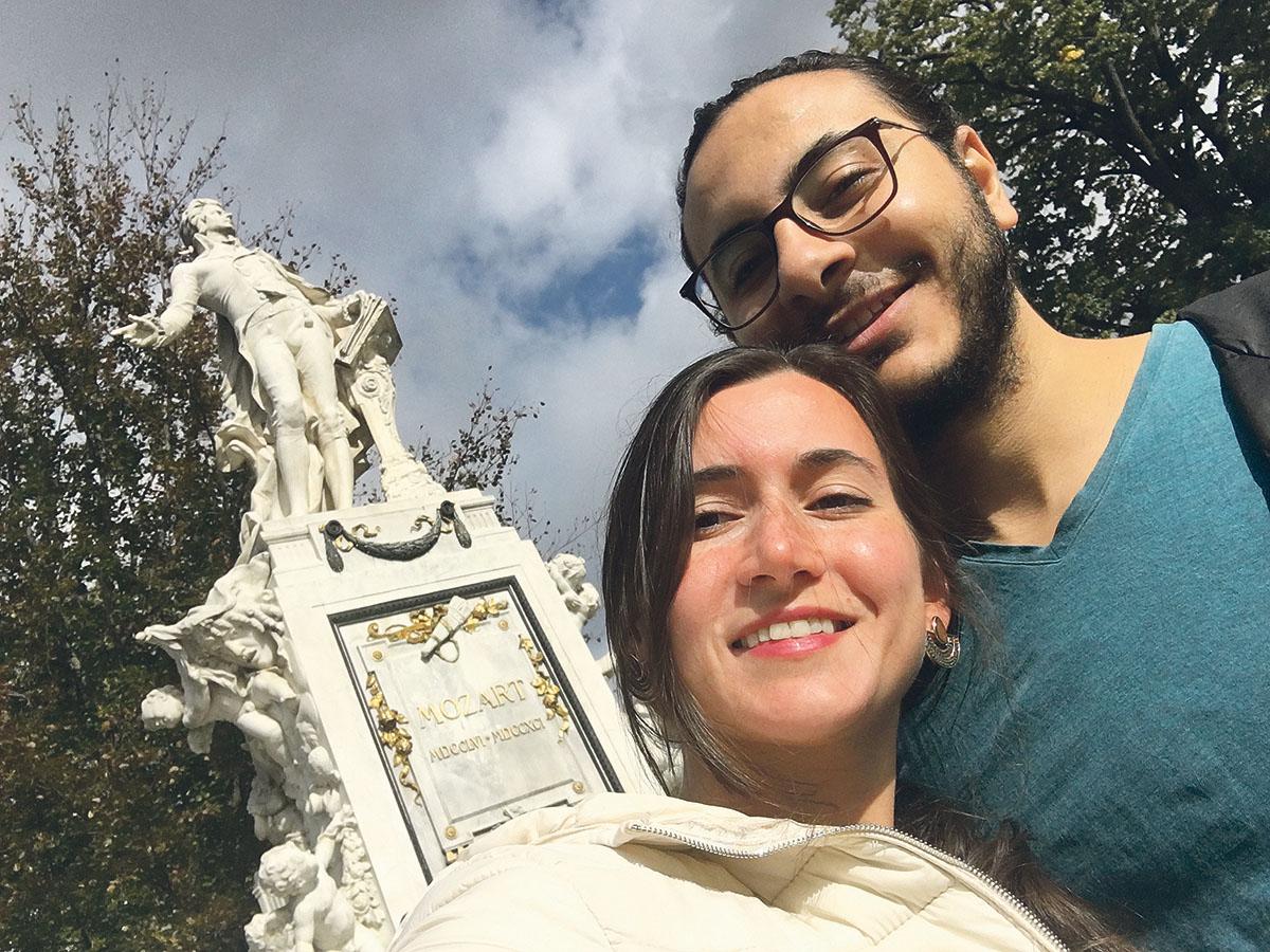 Ahmed Samir Santawy und Souheila