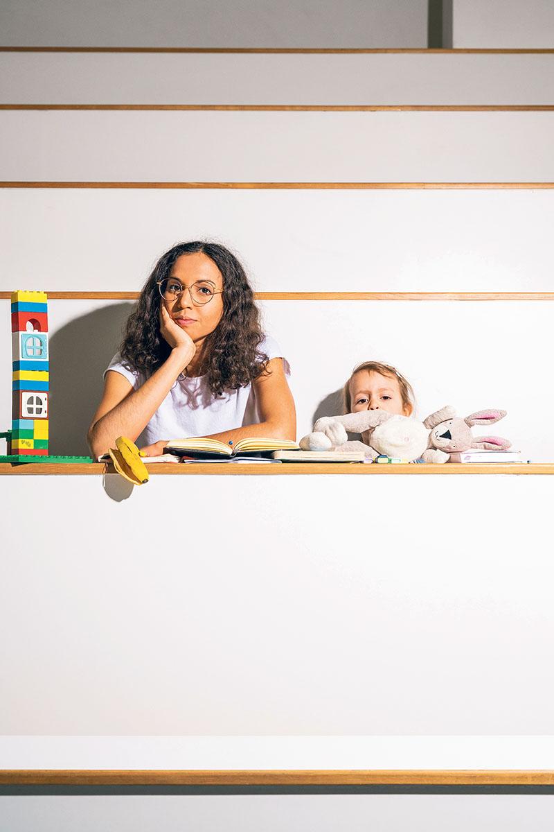 Alleinerziehend Studieren, Studium, Mama, Lernen
