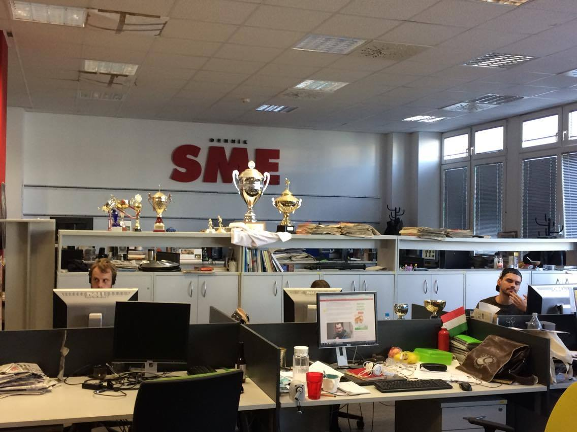 die Tageszeitung SME Bratislava