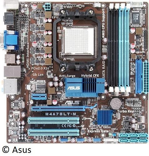 Mainboard, von Asus
