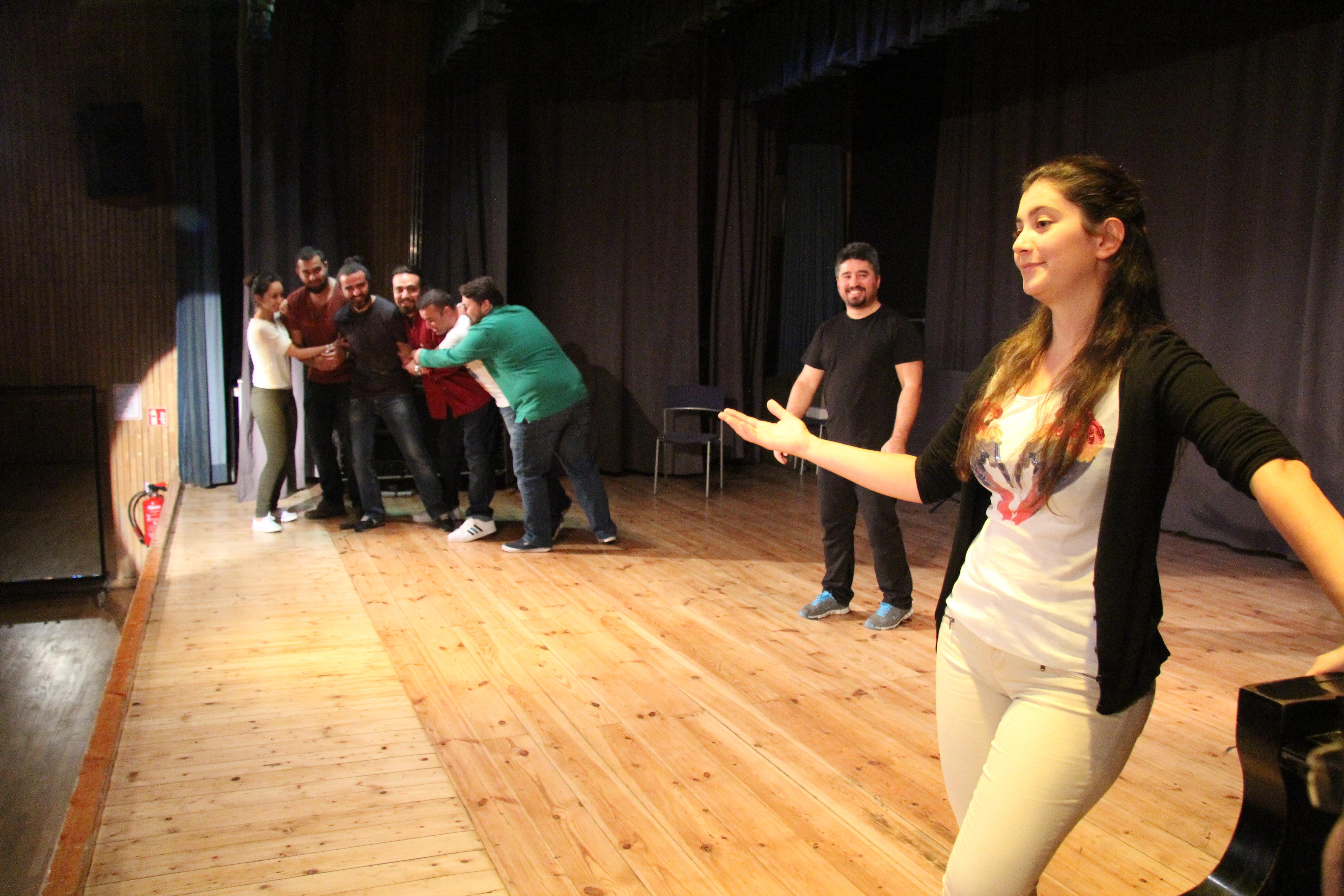 theater sahne, türkisches theater, kultur