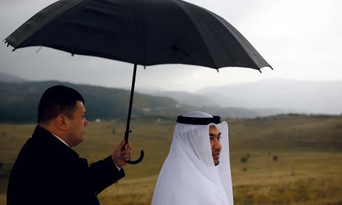 Bosnien: Die Araber kommen