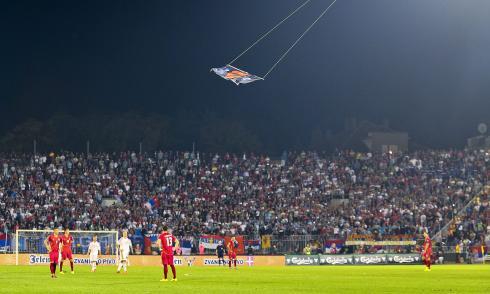 Drohne, Albanien, Serbien, Nationalisten, Politik, Fußball, Mitrovic