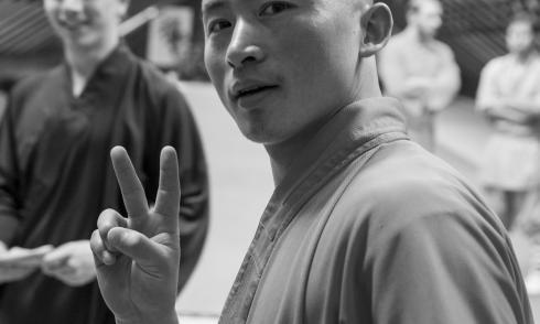 Shaolin Mönch Shi Heng Zhan