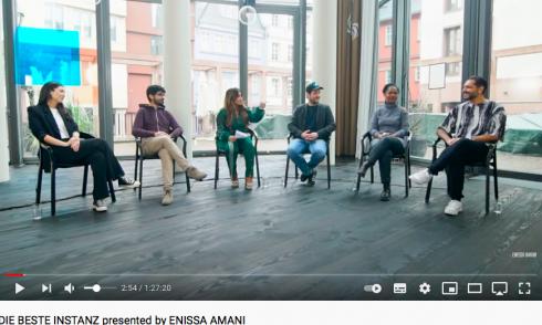 Screenshot: Youtube/Enissa Amani