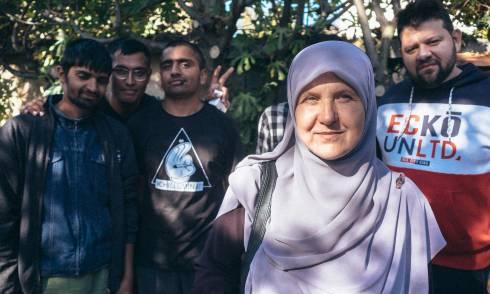 Peter Rosandic, Kid Pex, Flüchtlinge, Balkanroute
