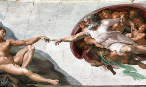 michelangelo, nackt, museum, kunst