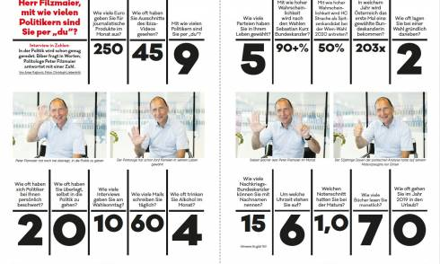 Filzmaier, Politik, Zahlen