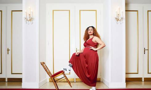 Sajeh Tavasolie, Interview, Schwangerschaft
