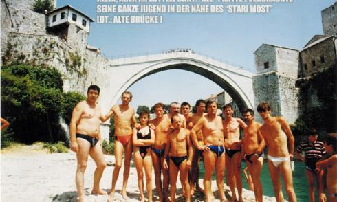 Mostar, Stari Most, Springer, Alte Brücke,