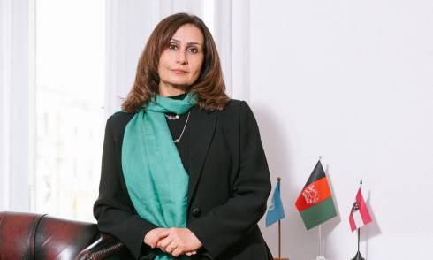 Afghanische Botschafterin