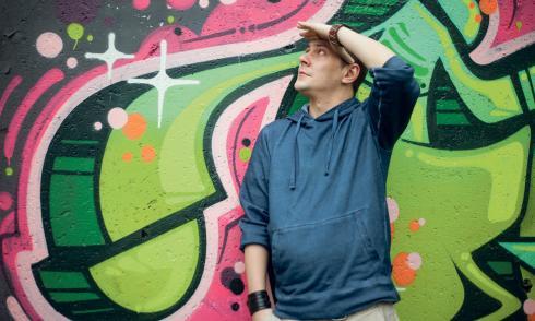 Der serbische Rapper Marcelo