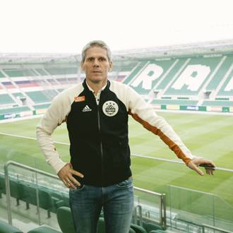 Rapid-Trainer Didi Kühbauer im Allianz-Stadion