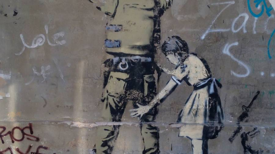 Banksy Graffiti Palestine