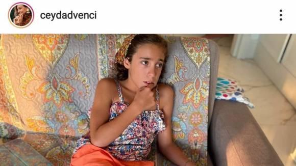 Screenshot von @ceydadvenci auf Instagram