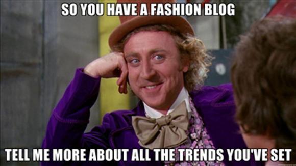 Meme Fashion Blog Kolumne Satire